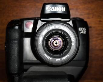 Canon A2 35mm professional SLR camera