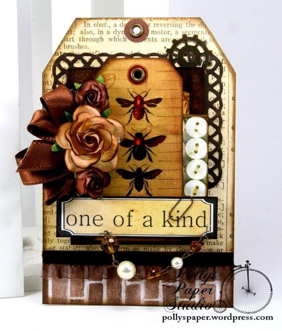 Bee Home Decor: One Of A Kind Bee Tag Home Decor Handmade