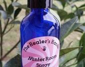 Minter Room Spray ~ 2 oz Cobalt Blue Glass ~ Reiki Charged