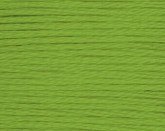 703 DMC embroidery thread floss green