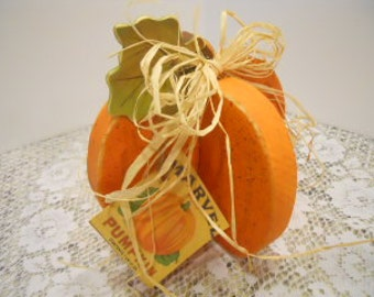 FALL, Pumpkin, 3D Wooden, Fall Centerpiece, Wood Craft