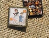 Halloween Miniature Box of Chocolates 12th Scale