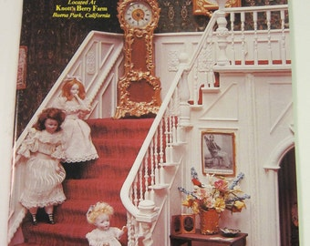 Dollhouse Miniatures, The Mott Miniature Collection, 24 page book.