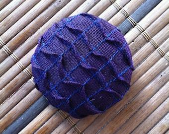 Japanese Brooch Purple