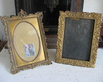 Antique German Tin Frames