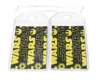 Luggage Tags Set of 2 Star Wars