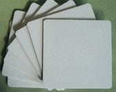 BLANK COASTERS 100 square 3.5 Inch Heavy weight 2 mm for decorating, crafting, scrapbooks, wedding, party, paper goods, craft projects,...