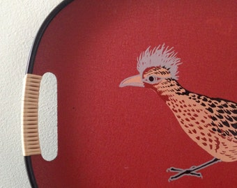 Retro Roadrunner Serving Tray