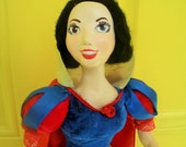 Snow White, art doll, One of a kind,reserved for Noel