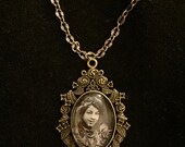 Pamela Colman Smith Cameo Necklace