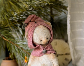 Sewing Pattern For 7 Inch Bear & Hat PDF( No Instruction for hat)