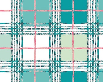 Trellis Plaid Fresh  LAH-26811 - LAVISH -  Katarina Roccella for Art Gallery Fabrics - By the Yard