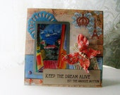 Funny Friendship Card, Humorous best friend card, Keep the Dream Alive, decorated note card