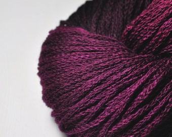 Burnt fuchsia - Merino/Alpaca/Yak DK Yarn - Winter Edition