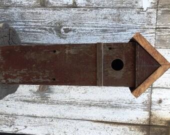 Primitive Barnwood Birdhouse