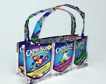 90's CapriSun Novelty Juice Pouch Handmade Purse