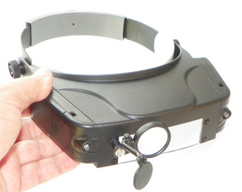 Multi-Strength Head Magnifier With LED Lights