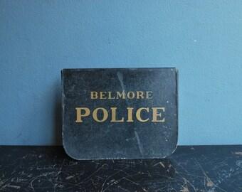 1921 Police Door Sign