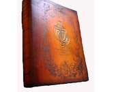 Handcrafted Leather Family and or Wedding Bible