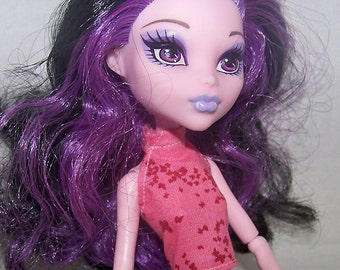 Handmade Monster High doll clothes - pink halter top
