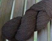 WORSTED Weight Yarn - Dark Chocolate (#6205) - Berroco Ultra Alpaca  - 215 yards - 100g