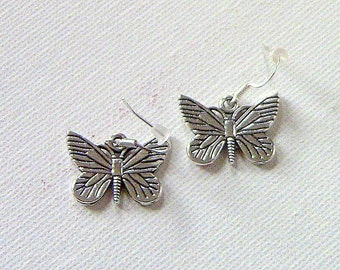 Butterfly Earrings, Butterflies, Earrings,