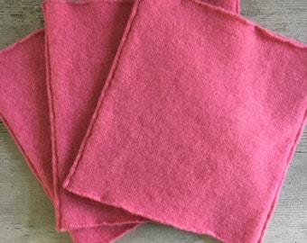 Kids Cowl PINK Cashmere Neck Warmer Childs Size LARGE Pink Gaiter Neckwarmer Upcycled Fall Winter Spring Accessories