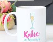 Chief Prosecco Taster Personalised Mug