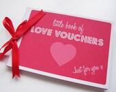Love Voucher Book