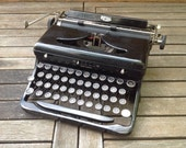 RESERVED FOR KEVIN -1936 Royal Portable Typewriter