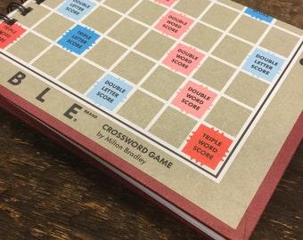 Scrabble Score Pad