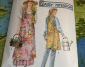 Simplicity 7481 Daisy Kingdom Apron Sewing Pattern Criss Cross