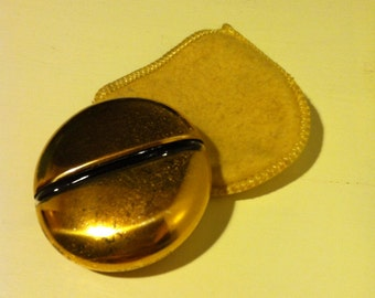 Vintage Perfume Bottle with cloth case