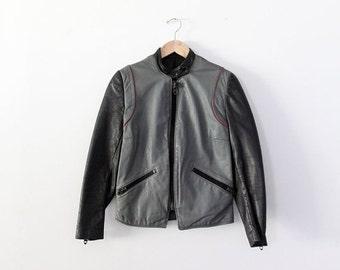 SALE 1980s Harley Davidson motorcycle jacket, vintage leather jacket