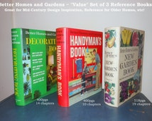 1960's Better Homes & Gardens Reference Books - Quick BOGO Sale