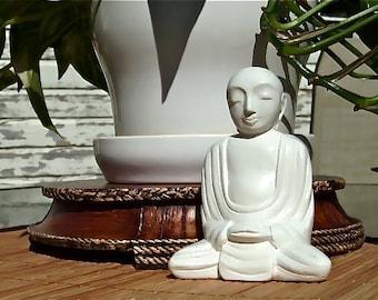 Flower Pot  Buddha Figurine - 5 color choices