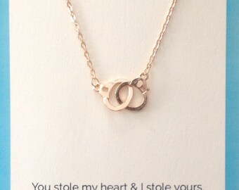 Whimsical Handcuff Necklace