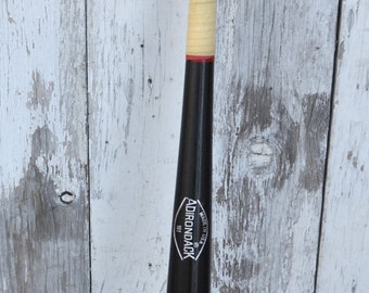 Vintage Adirondack Wood Baseball Softball Bat Black