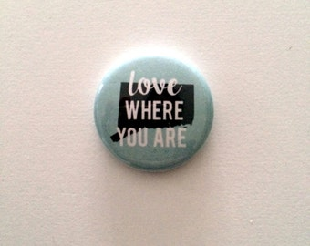 Love Where You Are pin (Connecticut)