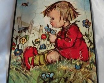 Vintage  Hummel Childrens Puzzles