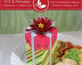 50% Off SVG & Printable Christmas Cookies Box