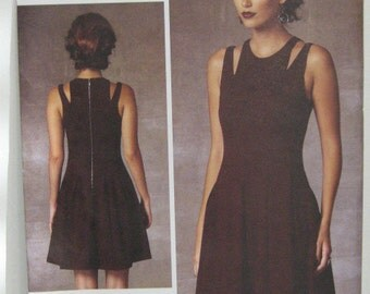 VOGUE Designer Dress Pattern, Rebecca Taylor Dress Pattern, VOGUE 1424 Dress Pattern, Resort Wear, Party Dress Pattern, SZ 14 through 22