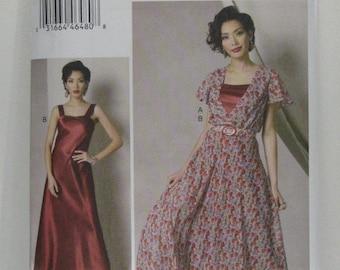 VOGUE Designer Dress Pattern, Kathryn Brenne Dress Pattern, VOGUE 9168 Dress Pattern, Resort Wear, Party Dress Pattern, SZ 14 through 22