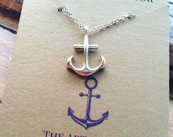 Handmade Anchor Necklace