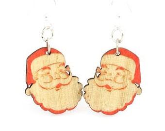 Santa Claus Earrings - Laser Cut Earrings