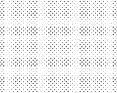 Swiss Dot Black on White by Riley Blake