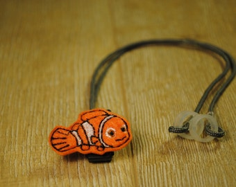 Orange Fish - Hearing Aid Cord or Cochlear Implant Cord