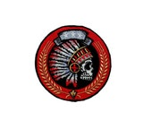 Tribal seal iron on patch