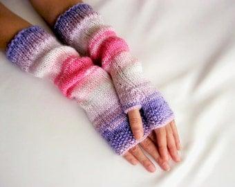 LONG Fingerless Gloves Multicolored gloves