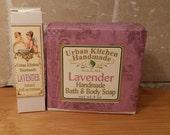 Lavender Handmade Soap & Natural Lavender Perfume, Lavender Perfume, Perfume, Lavender
